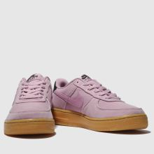 9914cd228a Girls pale pink nike air force 1 lv8 style trainers | schuh