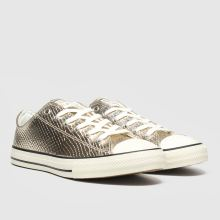 Converse all star lo metallic snake 1