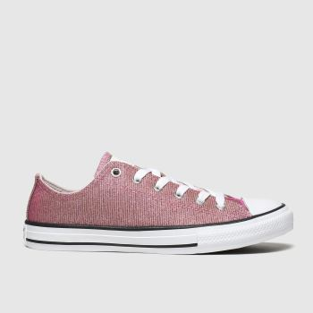 Converse Pink All Star Lo Space Star Girls Youth