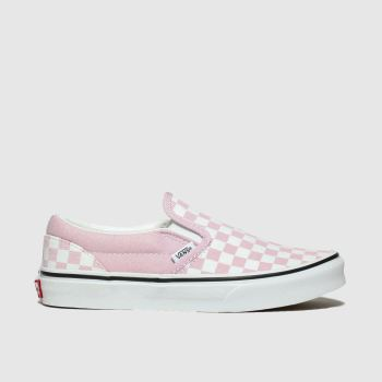 Vans Pink Classic Slip-On Girls Youth
