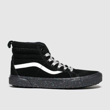 Vans Black & White Sk8-Hi Girls Youth