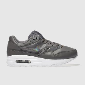 Nike Grey Air Max 1 Girls Youth
