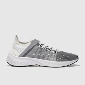 Nike White & grey Exp-X14 Girls Youth