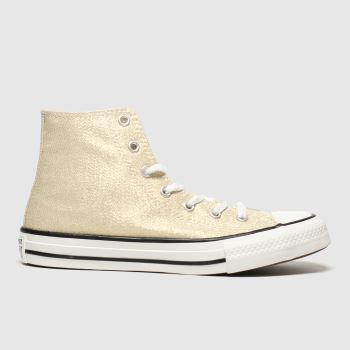 Converse Gold Cons Ctas Hi Summer Sparkle Yt Girls Youth