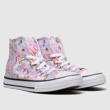 Converse All Star Hi Neon Unicorn 1