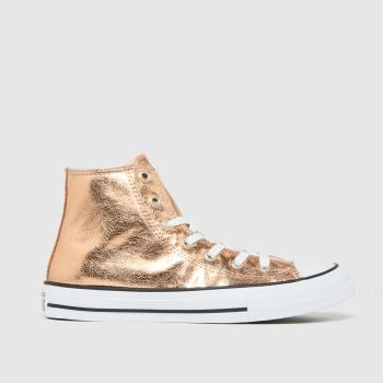 Converse Bronze Hi Digital Powder Girls Youth