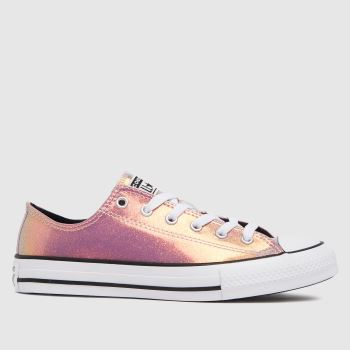 Converse Pink Lo Iridescent Girls Youth