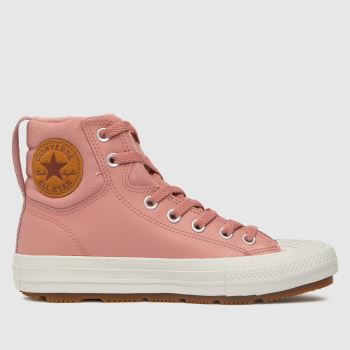 Converse Pale Pink Berkshire Boot Girls Youth