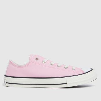 Converse Pale Pink Lo Uv Glitter Girls Youth