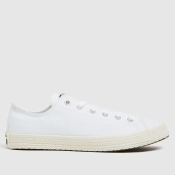 Converse White Lo Espadrille Girls Youth