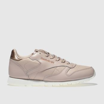 Reebok Pale Pink Classic Leather Estl Girls Youth