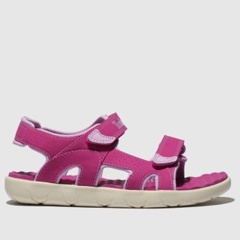 Timberland Pink Perkins Row Girls Youth