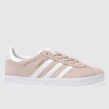 more photos c5d09 dd8f6 Adidas Pale Pink Gazelle Girls Youth