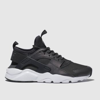 Nike Dark Grey Huarache Run Ultra Premium Girls Youth