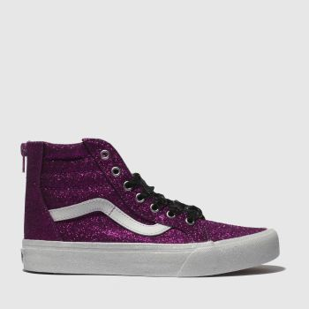 Vans Pink Sk8-Hi Zip Girls Youth