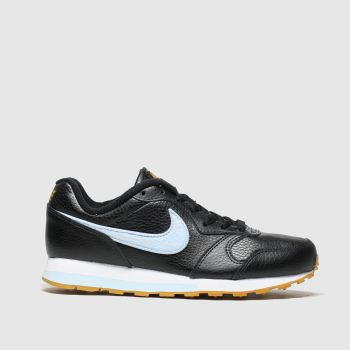 Nike Black and blue Md Runner 2 Girls Youth