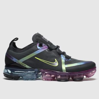 Nike Black & Silver Air Vapormax 2019 Girls Youth