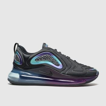 Nike Black & Purple Air Max 720 Girls Youth