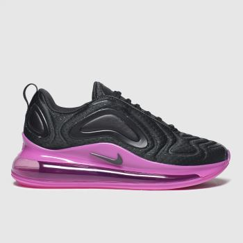 Nike Black & pink Air Max 720 c2namevalue::Girls Youth#promobundlepennant::£5 OFF BAGS