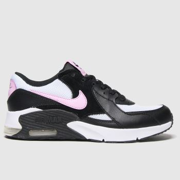 Nike Black & pink Air Max Excee Girls Youth