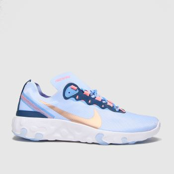Nike Pale Blue Renew Element 55 Girls Youth#