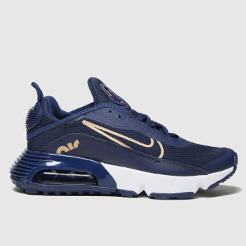 Nike Navy & Gold Air Max 2090 Girls Youth