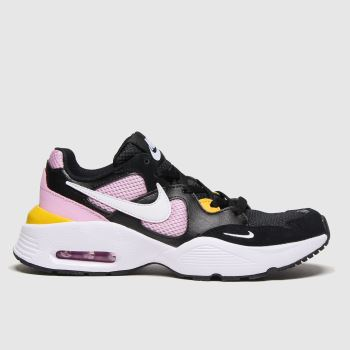 Nike Black & pink Air Max Fusion Girls Youth