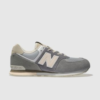 New Balance Grey 574 Girls Youth