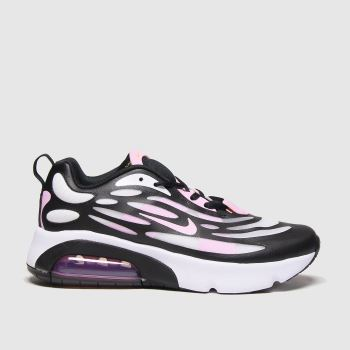 Nike Black & White Air Max Exosense Girls Youth