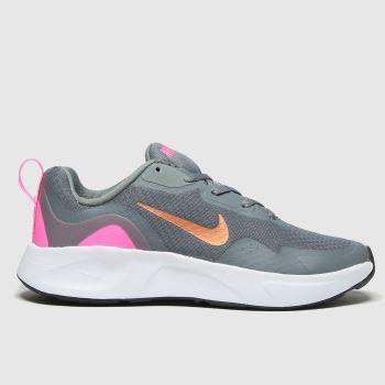 Nike Grey Wearallday Girls Youth