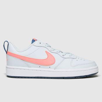 Nike Grey Court Borough Low 2 Se Girls Youth