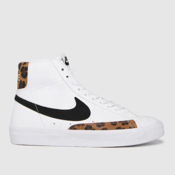 Nike White & Black Blazer Mid 77 Se Girls Youth