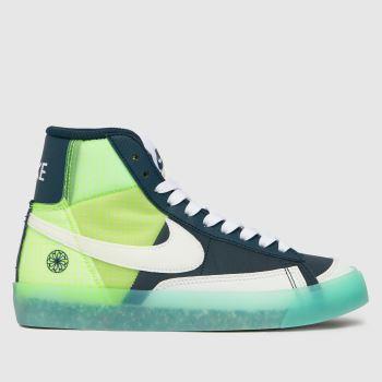 Nike Marineblau-Weiß Blazer Mid 77 MädchenJugendliche
