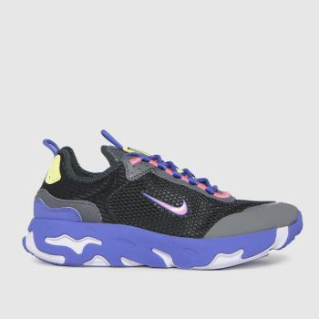 Nike Black and blue React Live Girls Youth