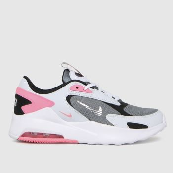 Nike Light Grey Air Max Bolt Girls Youth
