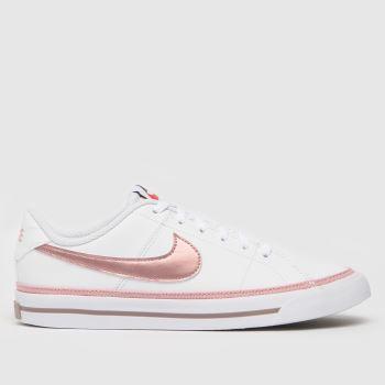 Nike White Court Legacy Girls Youth