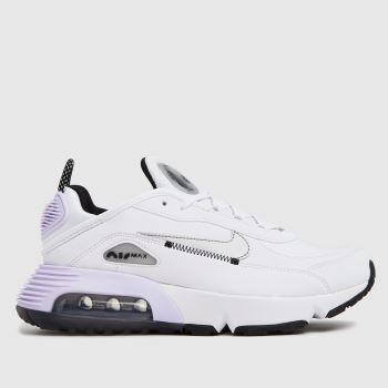 Nike White & Silver Air Max 2090 C/s Girls Youth