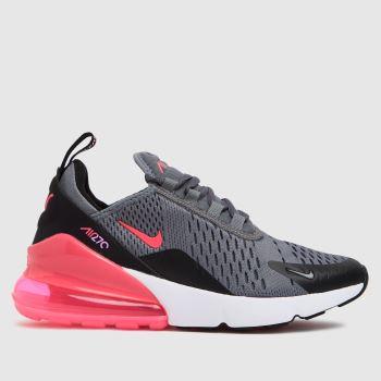 Nike Black & Grey Air Max 270 Girls Youth