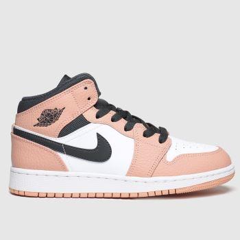 peach air jordans