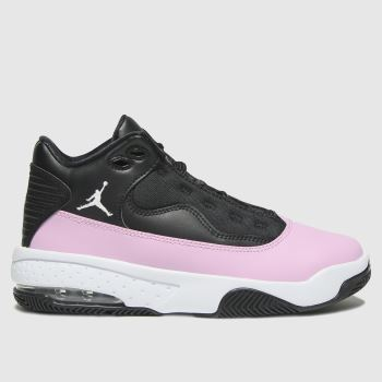 Nike Jordan Black & pink Jordan Max Aura 2 Girls Youth
