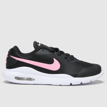 Nike Black & pink Air Max Oketo Girls Youth