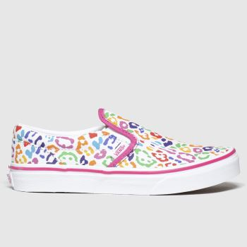 Vans Multi Classic Slip-on Girls Youth