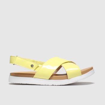 UGG Yellow Klara Girls Youth