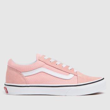 Vans Pale Pink Old Skool Girls Youth