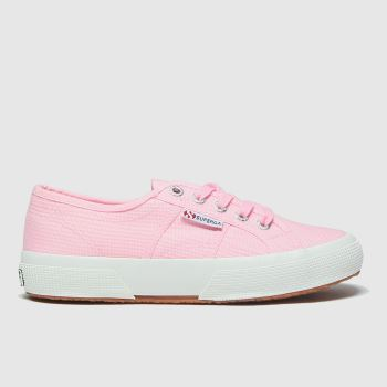 Superga Pink 2750 Classic Girls Youth