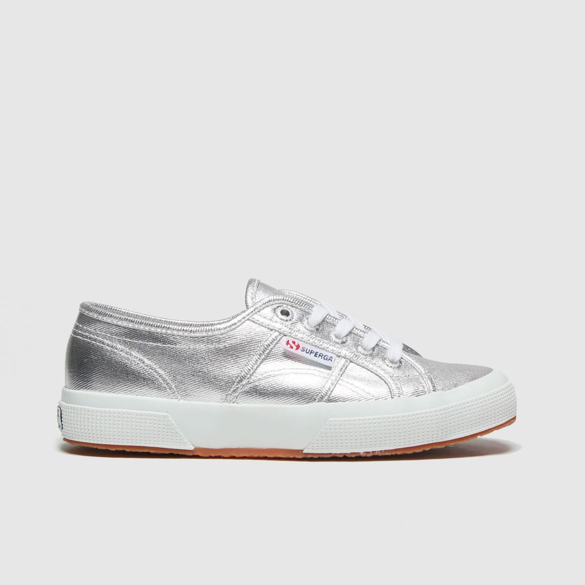 Superga Silver 2750 Trainers Youth