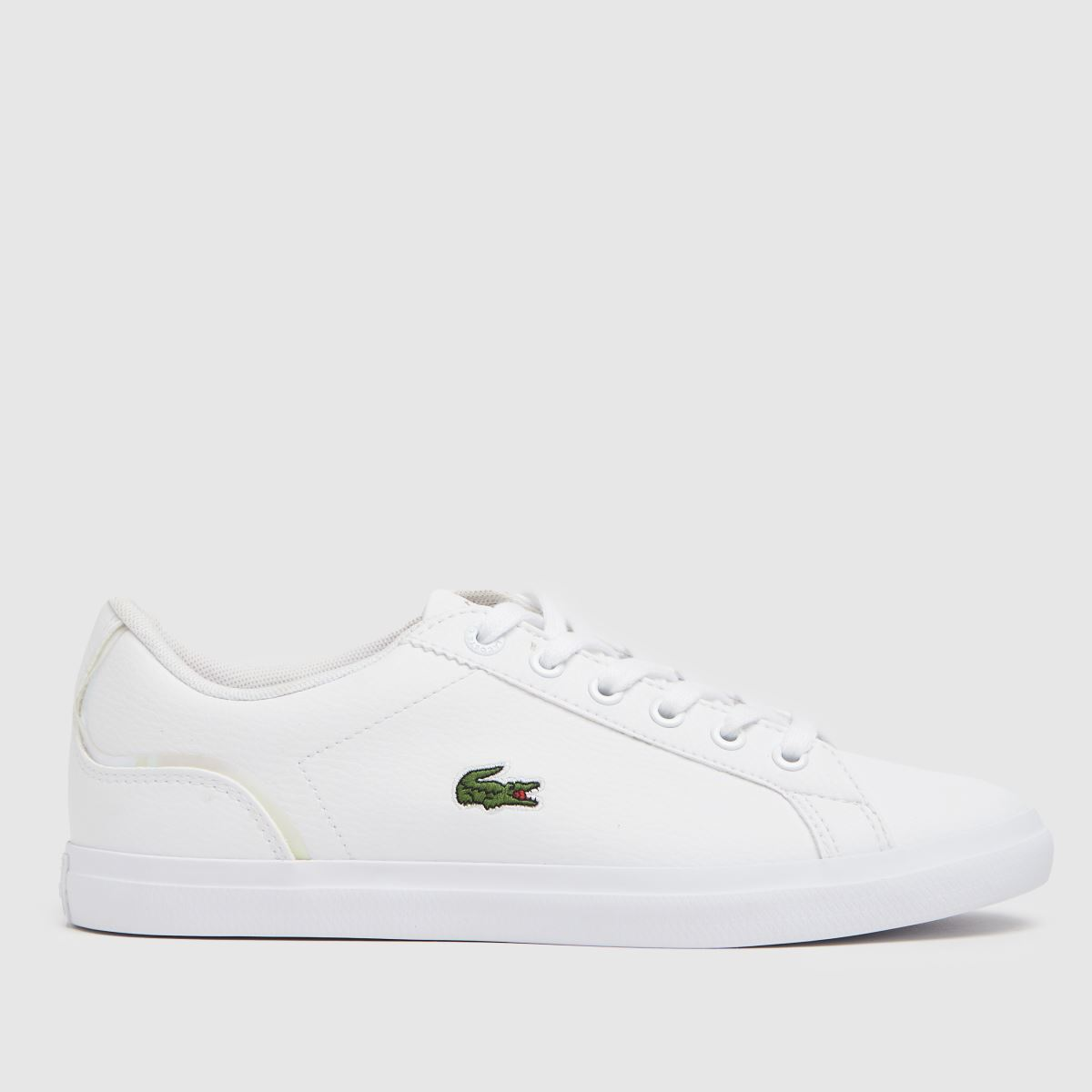 Lacoste White Lerond Trainers Youth