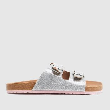 schuh Silver Tropical Glitter Girls Youth